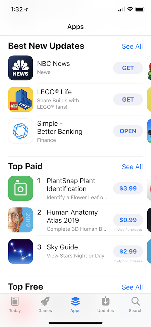 Simple Featured On App Store